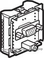 Celiane Розетка аудио/видео HD15 (VGA) + Jack 3,5 мм